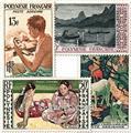 n° 1/4 -  Timbre Polynésie Poste aérienne
