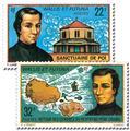 n.o 196/197 -  Sello Wallis y Futuna Correos