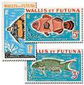 n.o 37 / 39 -  Sello Wallis y Futuna Tasa