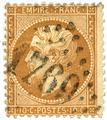 n° 19/24 obl. - Napoléon III (Empire non lauré)