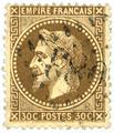 n° 25/26A/27A/28B/29B/30/31/32 obl. - Napoléon III (Empire lauré)