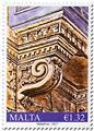 n° 1866/1868 - Timbre MALTE Poste