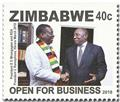 n° 814/817 - Timbre ZIMBABWE Poste