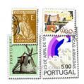 PORTUGAL : pochette de 100 timbres
