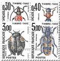 nr. 109/112 -  Stamp France Revenue stamp