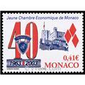 n° 2389 -  Selo Mónaco Correios