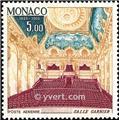 n° 87/90A -  Timbre Monaco Poste aérienne