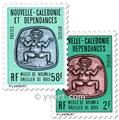 nr. 38/40 -  Stamp New Caledonia Official Mail