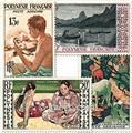 nr. 1/4 -  Stamp Polynesia Air Mail