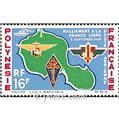 n.o 8 -  Sello Polinesia Correo aéreo