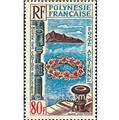 n° 15 -  Timbre Polynésie Poste aérienne