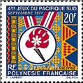 nr. 45 -  Stamp Polynesia Air Mail