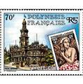 n° 155 -  Timbre Polynésie Poste aérienne