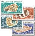 n° 192/195 -  Timbre Wallis et Futuna Poste