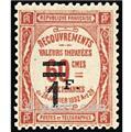 nr. 53 -  Stamp France Revenue stamp