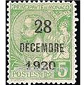 n° 48 -  Selo Mónaco Correios