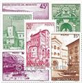 n° 169/183 -  Selo Mónaco Correios