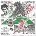 n° 1726/1729 (BF 50) -  Timbre Monaco Poste