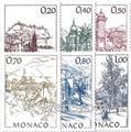 n° 1762/1767 -  Timbre Monaco Poste