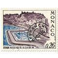 n° 30/33 -  Selo Mónaco Pré-obliterados
