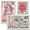 n° 307/319 -  Timbre Réunion Poste