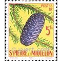 n.o 359 -  Sello San Pedro y Miquelón Correos