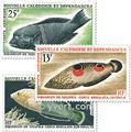 nr. 81/83 -  Stamp New Caledonia Air Mail