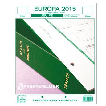 EUROPA FE : 2015 (jeux sans pochettes)