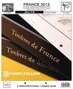 FRANCIA FS: 2013 - 2.º SEMESTRE (juego de hojas sin filoestuches)