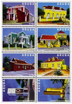 n° 875 - Timbre ARUBA Poste
