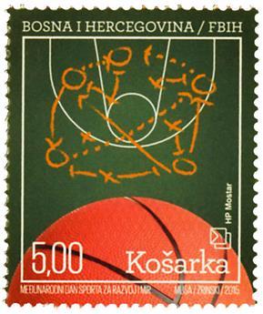 n° 375 - Timbre HERCEG-BOSNA Poste