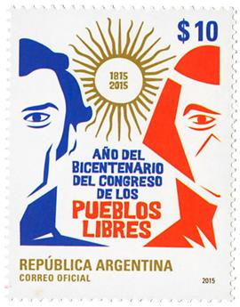 n° 3081 - Timbre ARGENTINE Poste