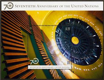 n° 33 - Timbre ONU NEW YORK Blocs et feuillets