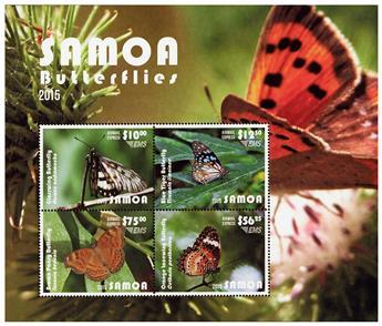 n° 96 - Timbre SAMOA Blocs et feuillets