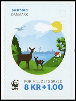 n° 1825 - Timbre DANEMARK Poste