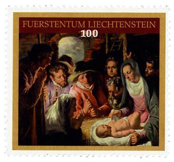 n° 1722 - Timbre LIECHTENSTEIN Poste