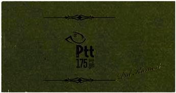 n° 9 - Timbre TURQUIE VIII - Carnets et ouvrages de luxe