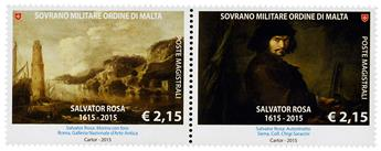 n° 1278 - Timbre ORDRE de MALTE Poste