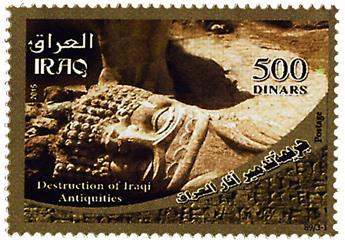 n° 1792 - Timbre IRAK Poste