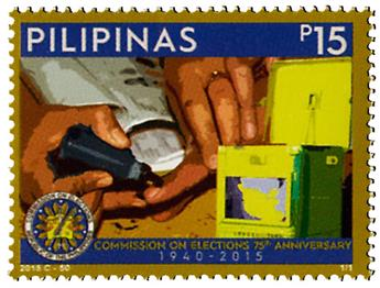 n° 4020 - Timbre PHILIPPINES Poste