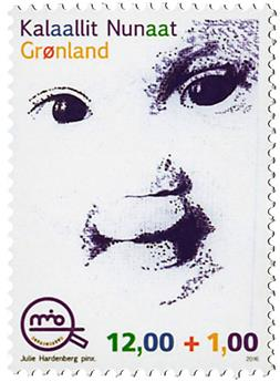 n° 700 - Timbre GROENLAND Poste