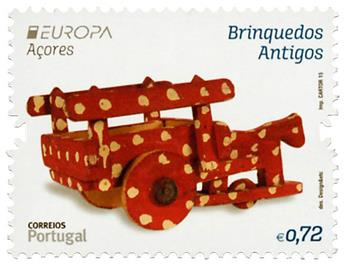 n° 591 - Timbre ACORES Poste (EUROPA)
