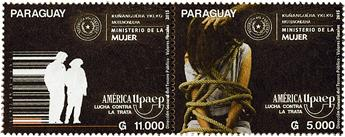 n° 3207 - Timbre PARAGUAY Poste