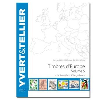 EUROPE Volume 5 - 2016 (Timbres des pays d´Europe de S à Y)