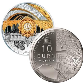 10 EUROS ARGENT - FRANCE - UNESCO BE 2016