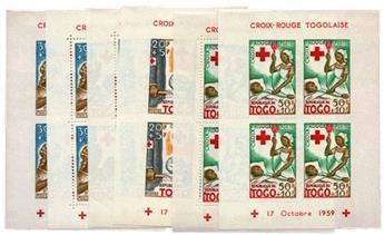n°2, 3 et 4 * - Timbre Togo Blocs et feuillets