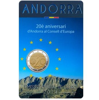 2 EURO COMMEMORATIVE 2014 : ANDORRE