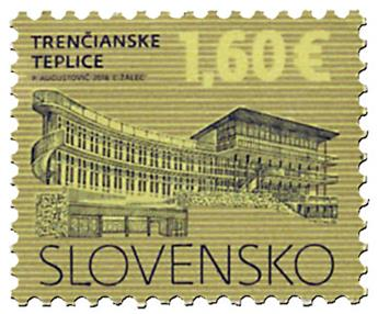 n° 683 - Timbre SLOVAQUIE Poste