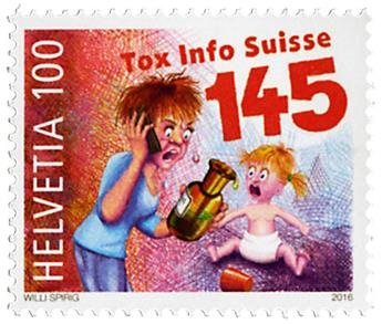 n° 2366 - Timbre SUISSE Poste