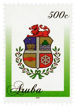 n° 894 - Timbre ARUBA Poste